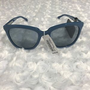NWB J.Crew Franny Sunglasses in Blue